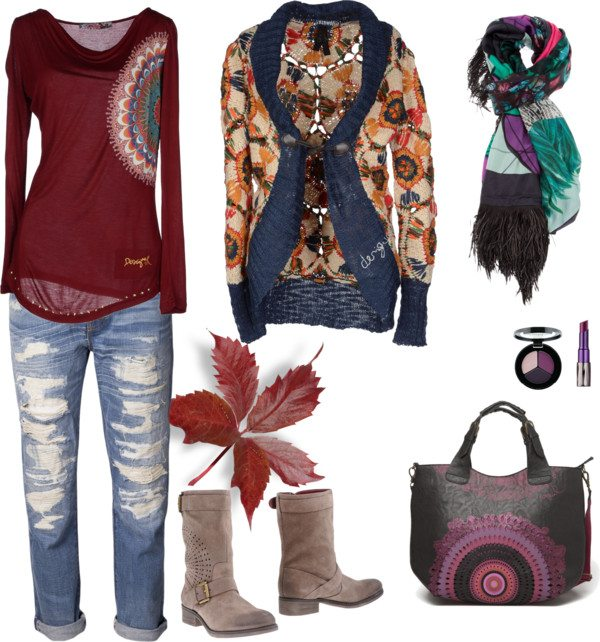 My Desigual outfit.