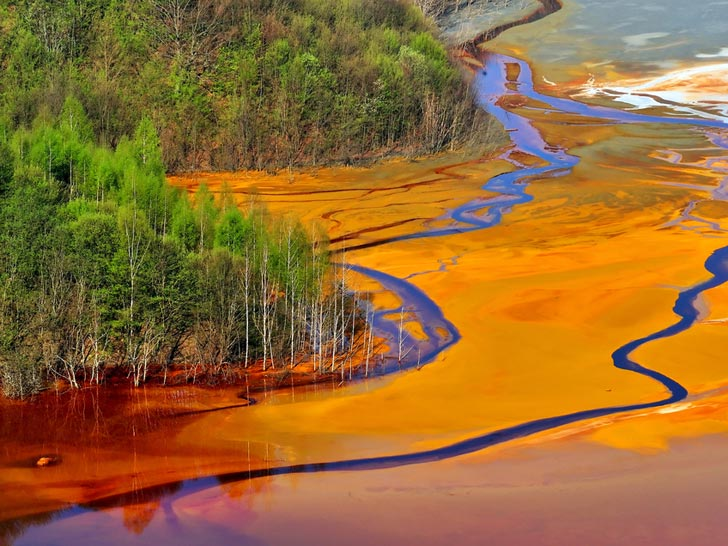 Contaminación ríos China