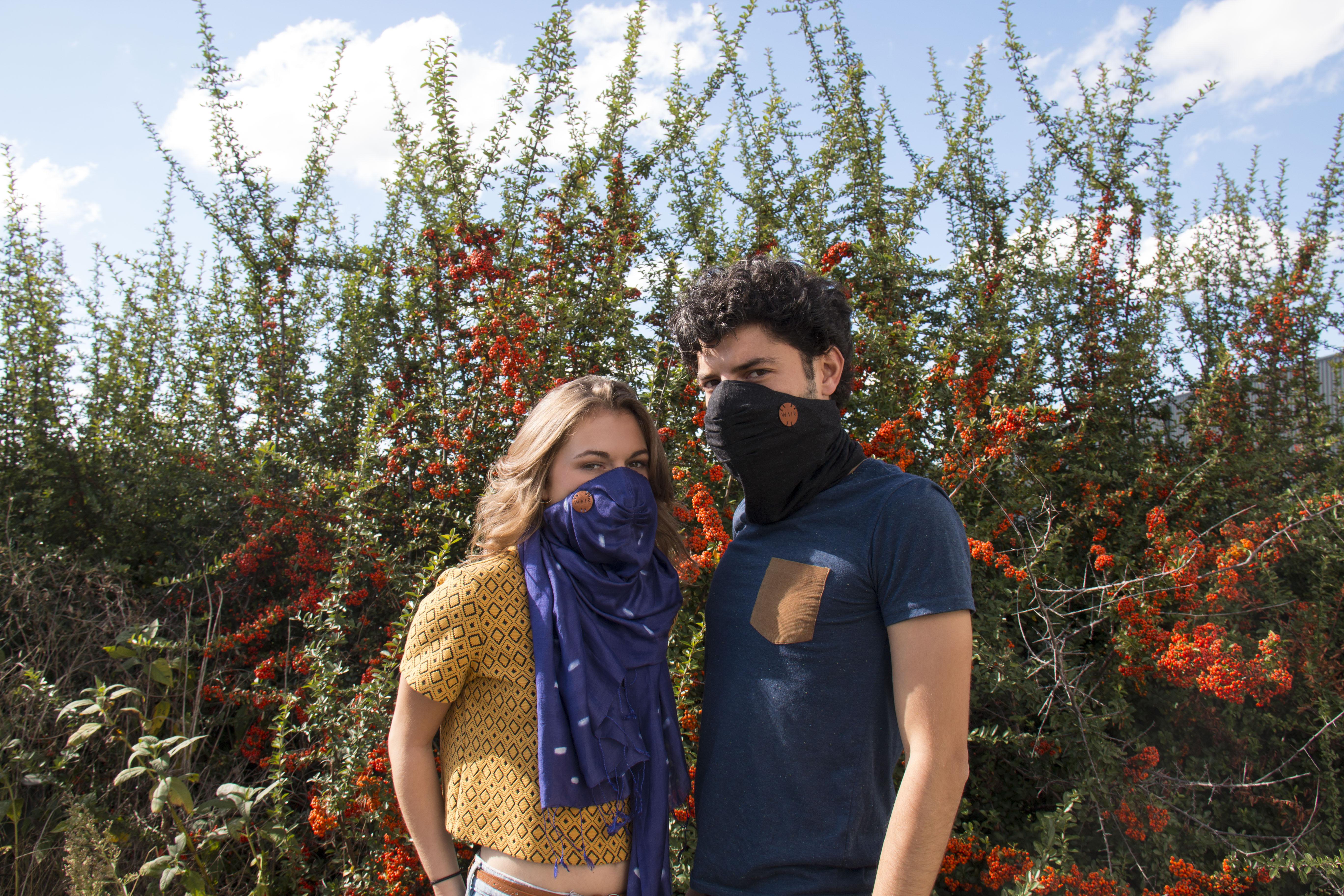 WAIR: el fular que filtra el aire contaminado