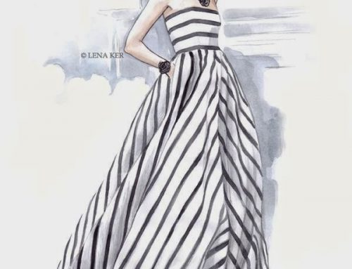 Lena Ker fashion illustrator