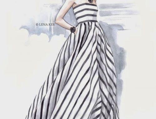 Lena Ker fashion illustrator