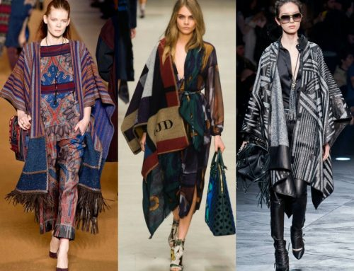 Los ponchos: un must para esta temporada / Ponchos: a must for this season