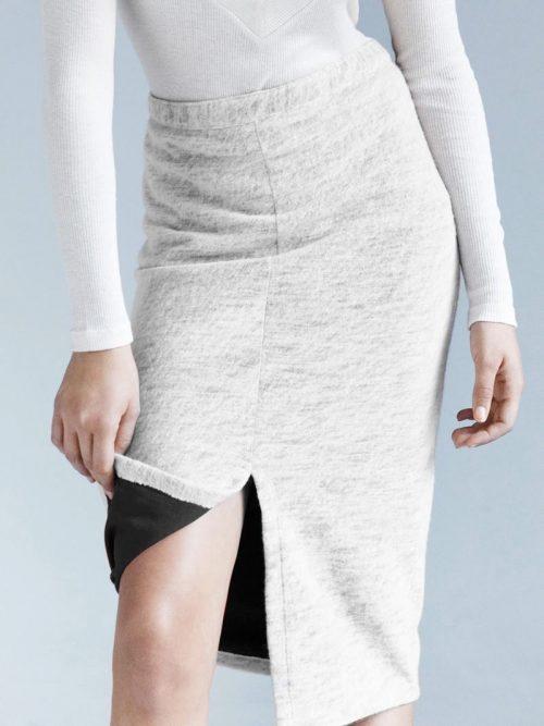 falda lana orgánica