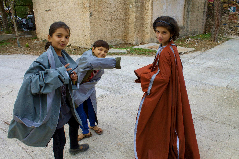 moda ayuda refugiados