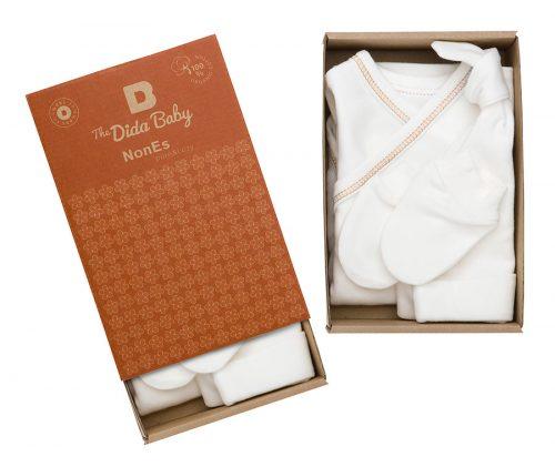conjunto recién nacido algodón ecológico