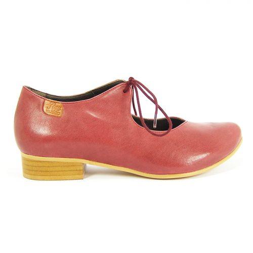 zapato ecologico anchel burdeos - ray musgo