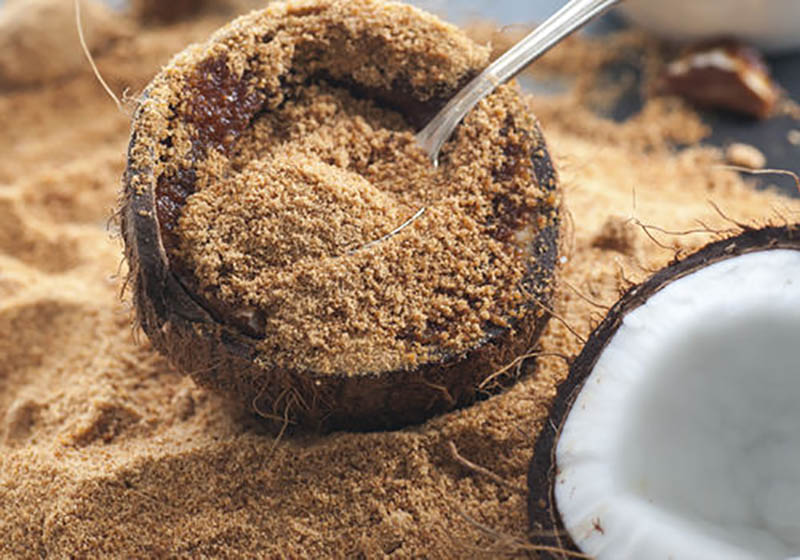 endulzantes naturales - azucar coco