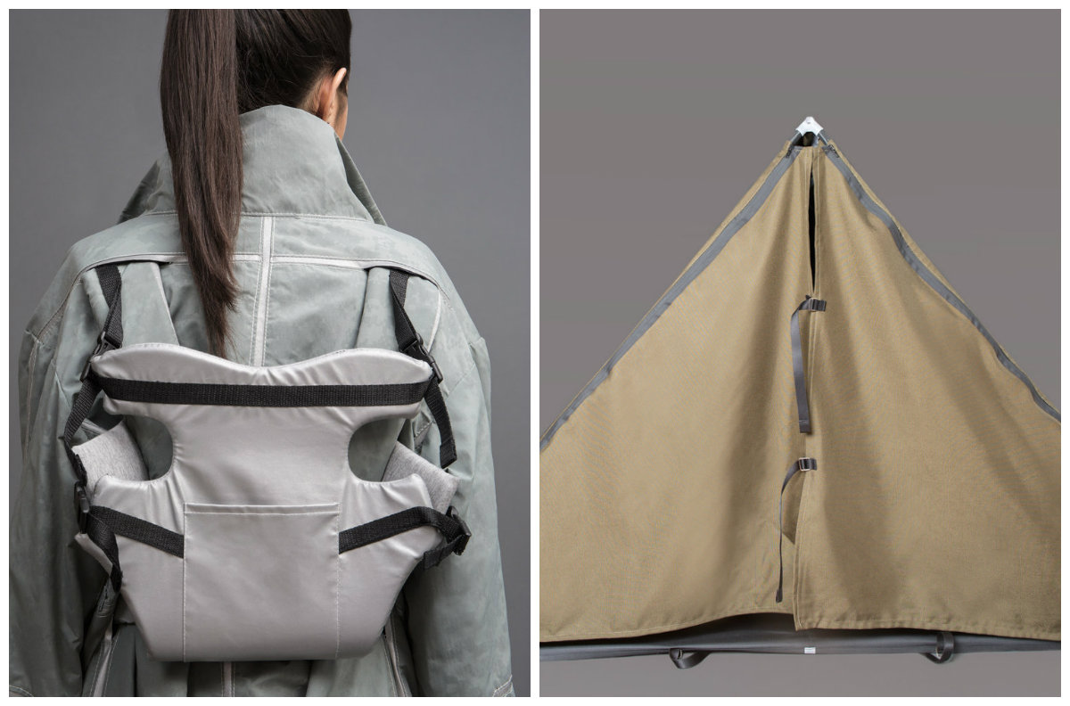 moda transformable refugiados