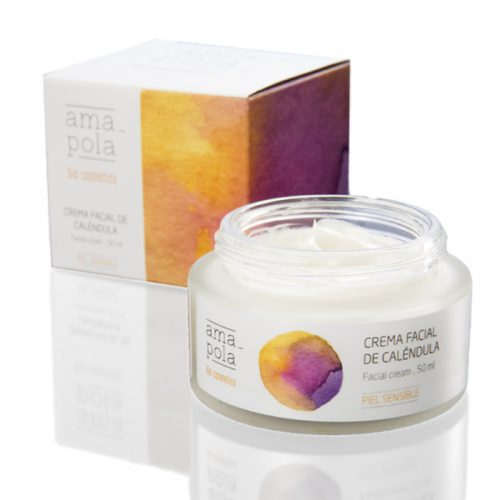 crema hidratante de calendula - Amapola Bio Cosmetics