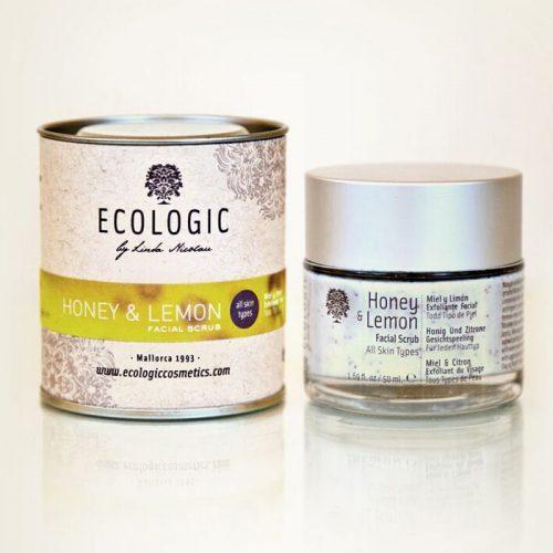Exfoliante facial natural - Ecologic