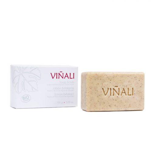 Jabón exfoliante natural - Viñali