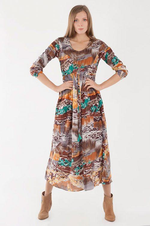 vestido mujer algodón orgánico - Firiri