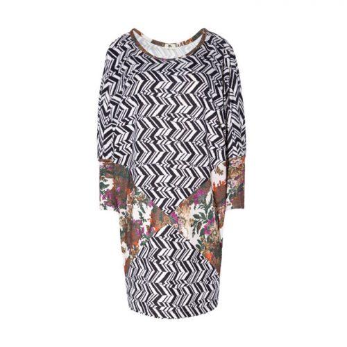 vestido patchwork - AumActiveWear